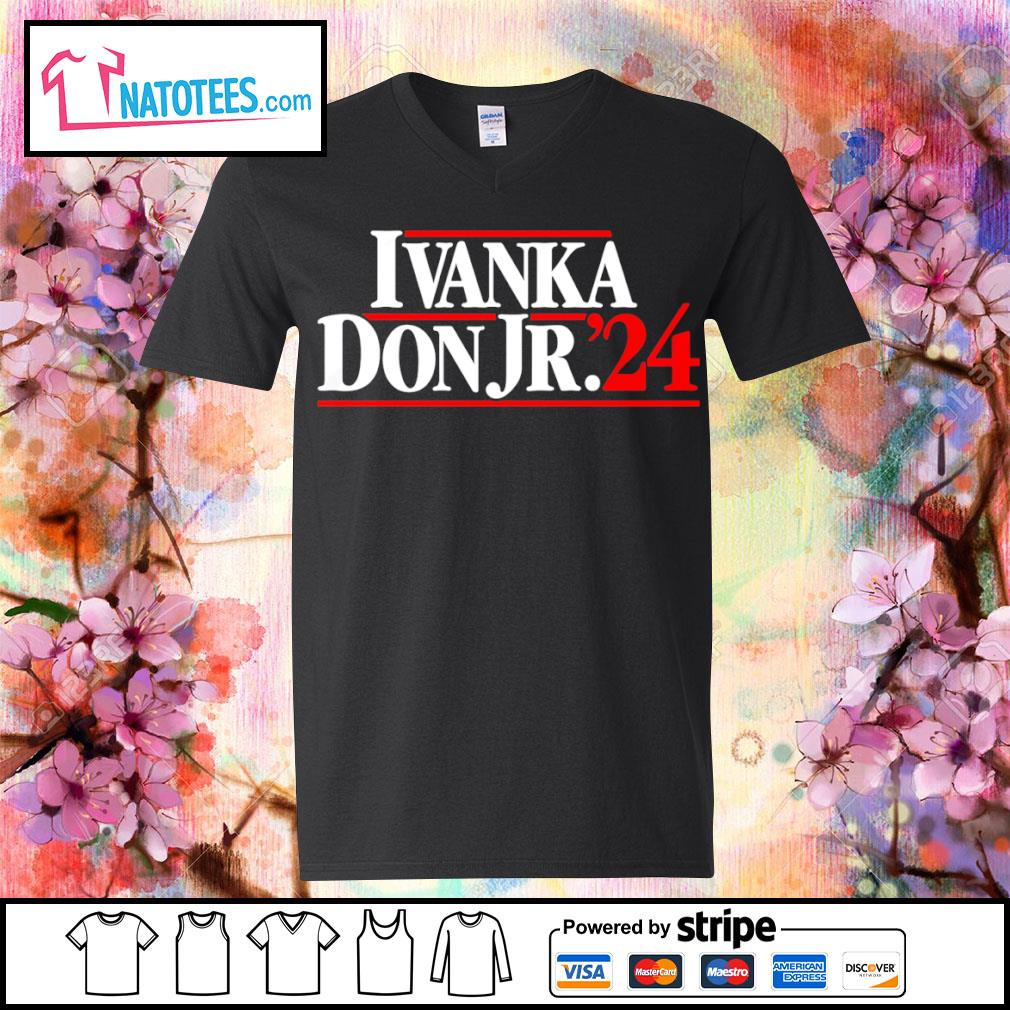 Ivanka Don Jr.'24 s v-neck-t-shirt