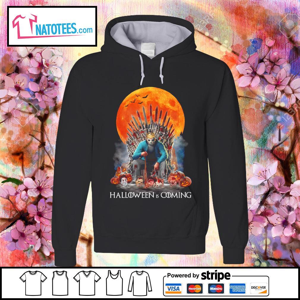 Jason Voorhees Halloween is coming s hoodie