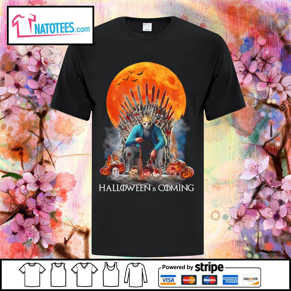 Jason Voorhees Halloween is coming shirt