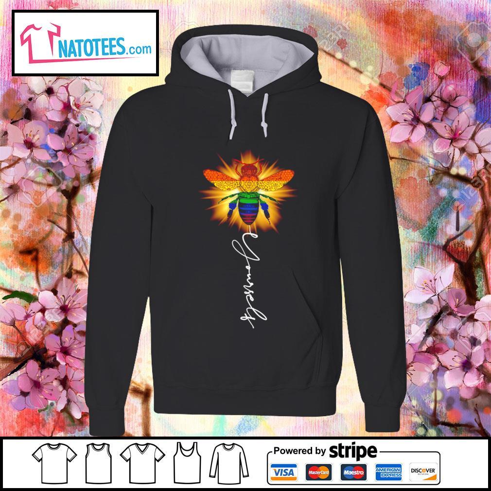 LGBT bee yourself s hoodie