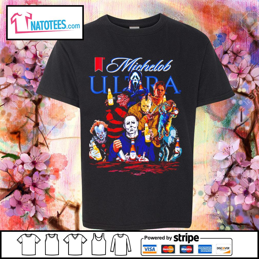 Michelob Ultra horror characters movie s youth-tee