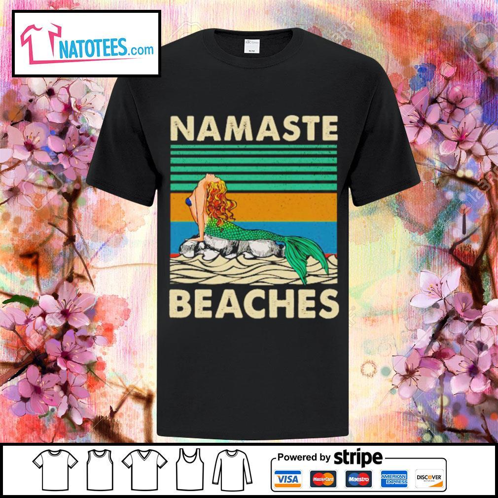 Namaste beaches vintage shirt