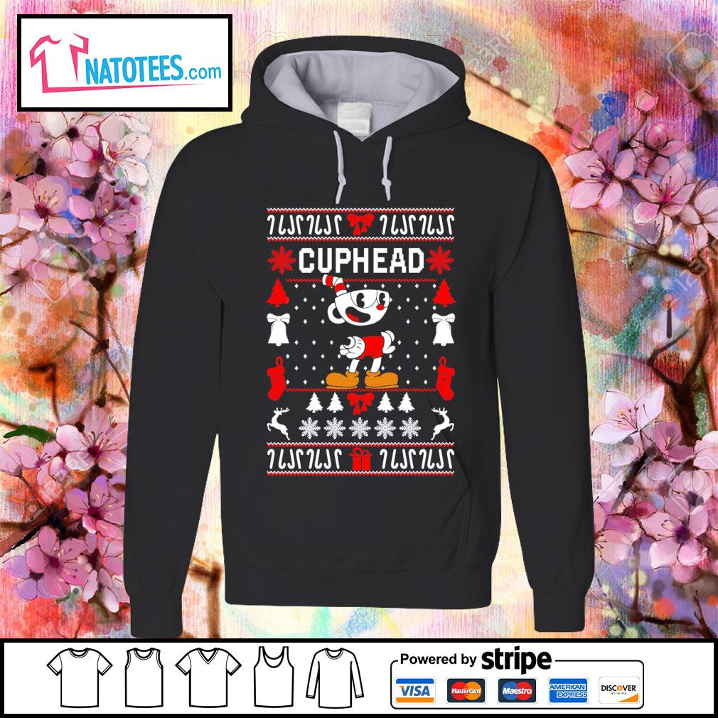 Cuphead ugly Christmas s hoodie