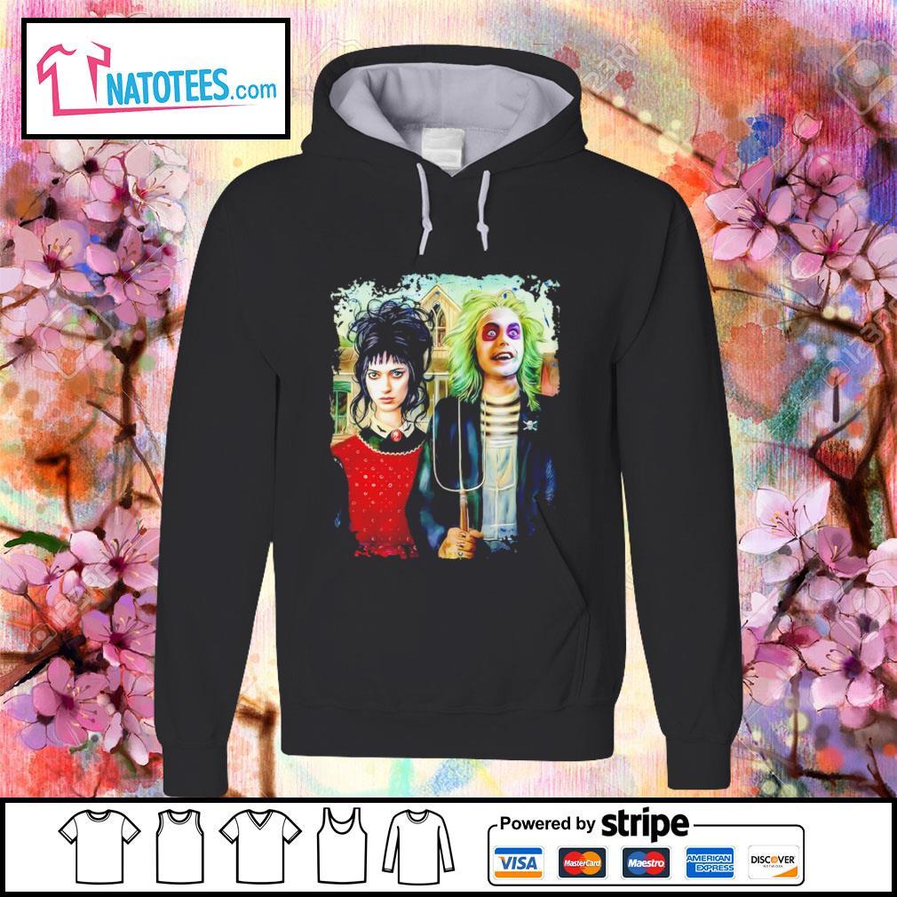 Halloween American Beetlejuice Gothic s hoodie