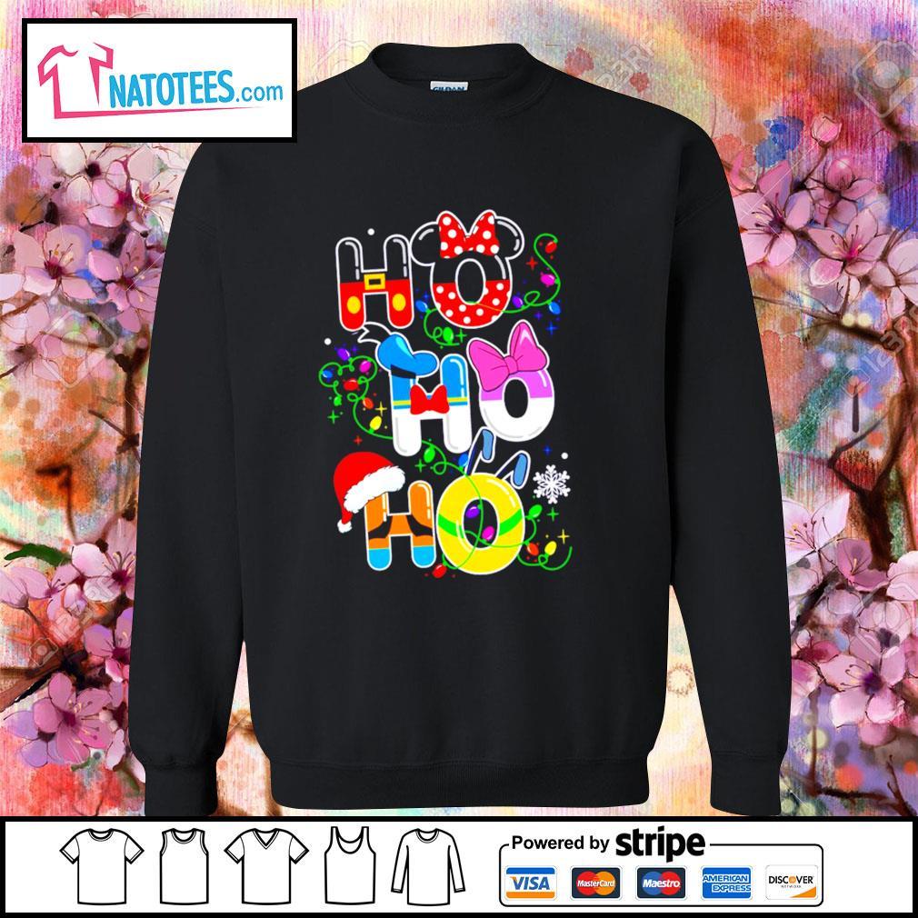 Ho Ho Ho Disney snowman snowflake Santa hat reindeer Christmas s sweater