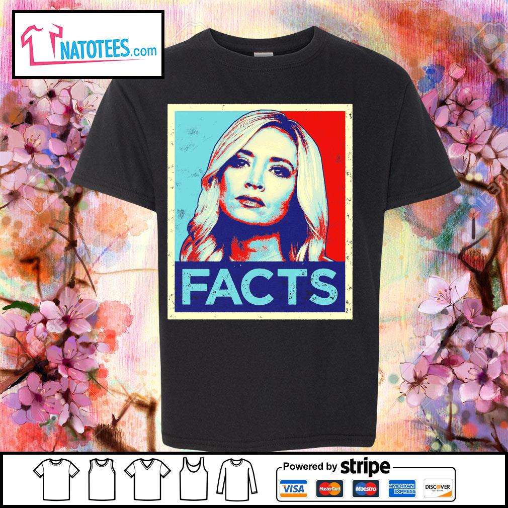 Kayleigh McEnany Facts vintage s youth-tee