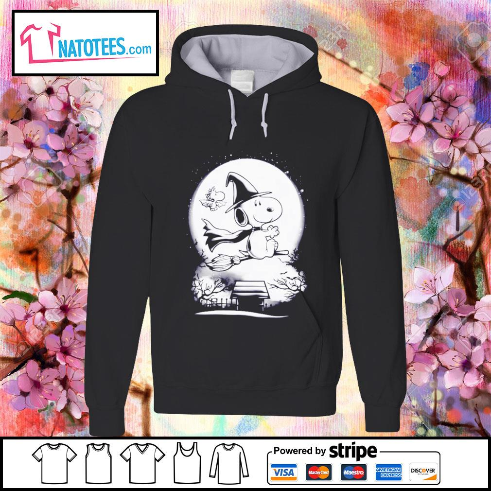 Peanuts Snoopy witch and Woodstock Halloween s hoodie